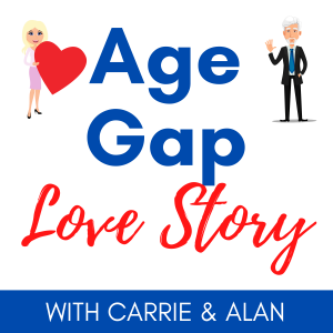 age gap love story podcast cover