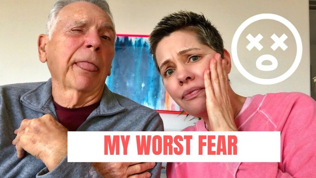 thumbnail for youtube video that says my worst fear